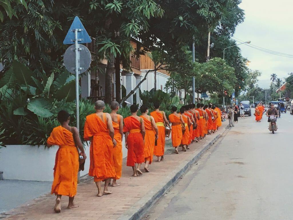 Küçük Bir Fransız Kasabası: Luang Prabang