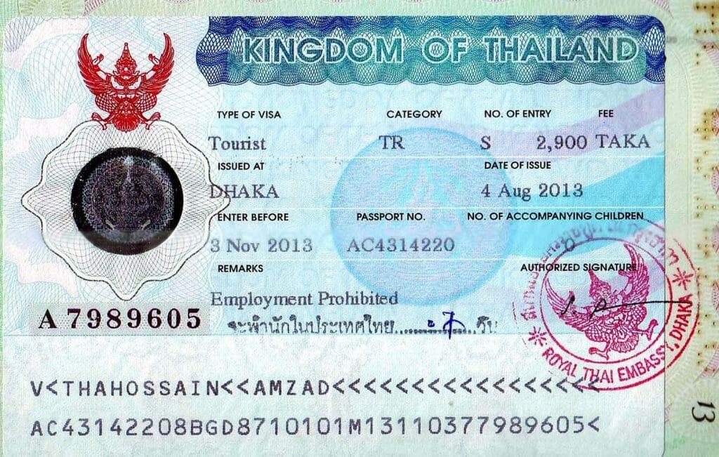 Tayland Vizesi Nasıl Alınır?